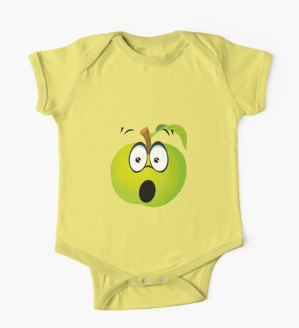 Funny Apple One Piece - Short Sleeve