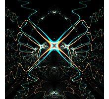 'Phased Waveforms' Photographic Print
