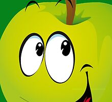 Funny Apple by Vitalia