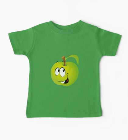 Funny Apple Baby Tee