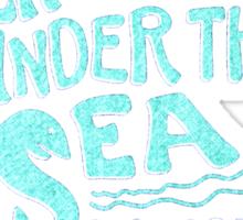 Enchantment Under the Sea Dance Sticker