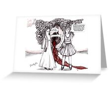 Problems with problems Greeting Card