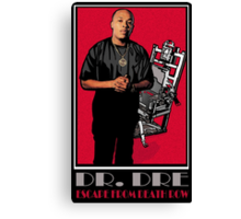 ESCAPE FROM DEATH ROW Canvas Print