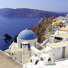Santorini View by Tom Gomez
