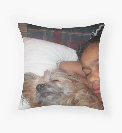 A Precious Moment Throw Pillow