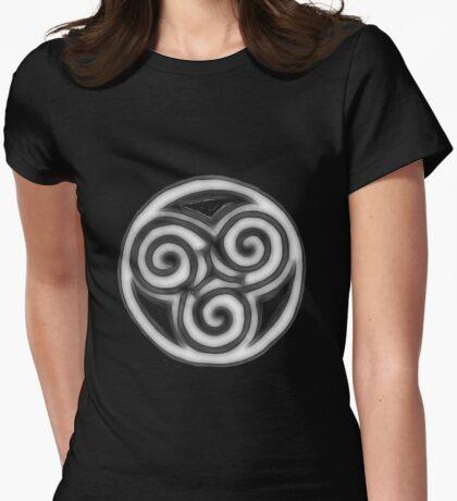 Triple Goddess Womens Fitted T-Shirt