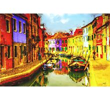 Gondola of Italy Photographic Print
