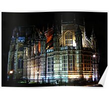 Westminster Abbey - London Poster