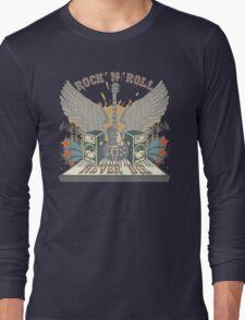 Rock n Roll Will Never Die Long Sleeve T-Shirt