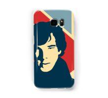 Sherlock Holmes Poster Samsung Galaxy Case/Skin