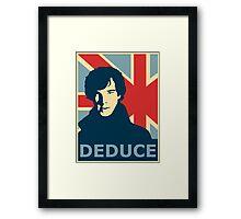 Sherlock Holmes Poster Framed Print