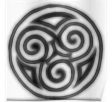 Celtic Goddess Trinity Poster