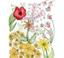 Floral Print 2 Photographic Print