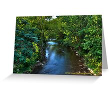 Downstream HDR Greeting Card