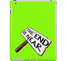 THE END of What? iPad Case/Skin