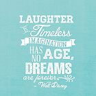 Laughter is Timeless in Ariel Aqua by still-burning