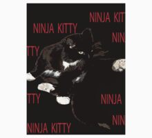 KITTEN ninja,ninja,ninja,kitty One Piece - Short Sleeve