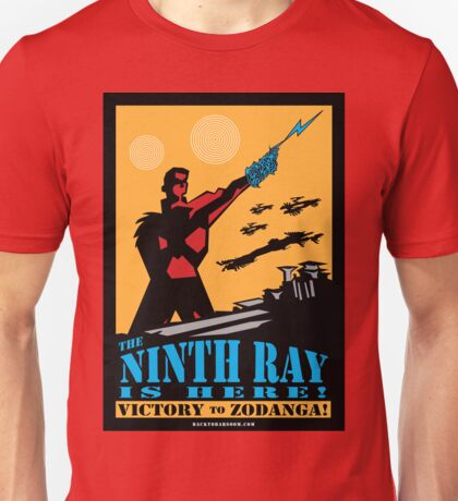 The 9th Ray Is Here! Poster Unisex T-Shirt