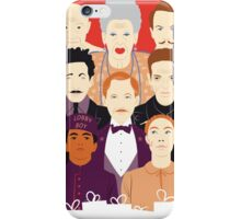 Many People In This Hotel (Faces & Movies) iPhone Case/Skin