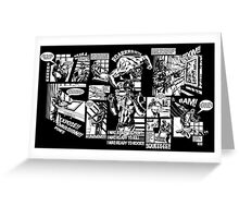 Sin City Screens Greeting Card