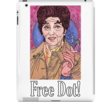 Free Dot iPad Case/Skin