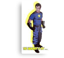 Captain Hammer  Metal Print
