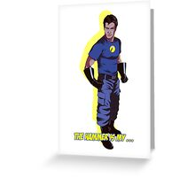 Captain Hammer  Greeting Card