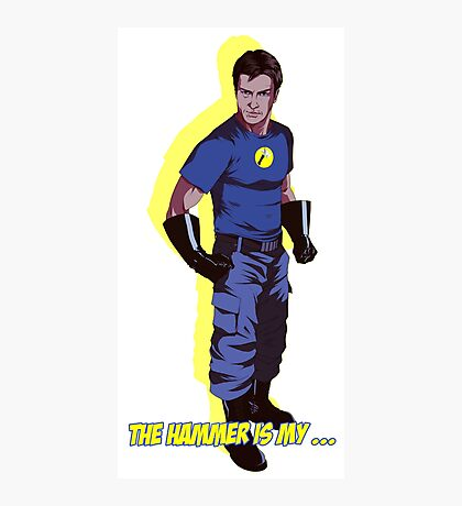Captain Hammer  Photographic Print