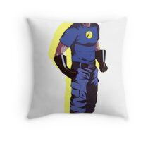 Captain Hammer  Throw Pillow