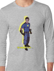 Captain Hammer  Long Sleeve T-Shirt