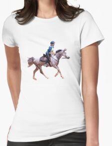 Endurance Riders Ready Womens Fitted T-Shirt