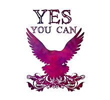 Yes You can purple Photographic Print