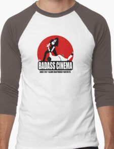 Badass Cinema Men's Baseball ¾ T-Shirt