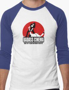 Badass Cinema Men's Baseball ¾ T-Shirt