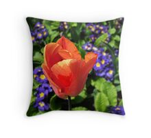 Just a Tulip Throw Pillow