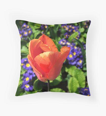 Just a Tulip Throw Pillow