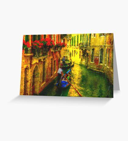 Italian Red Greeting Card