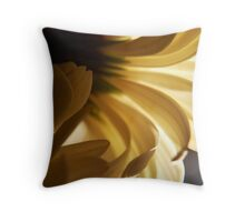 like our mornings Throw Pillow