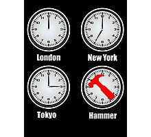 Hammer World Time Photographic Print