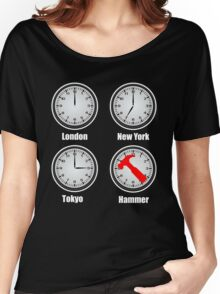 Hammer World Time Women's Relaxed Fit T-Shirt