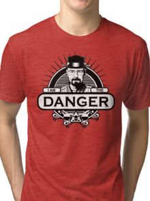 Walter White - I Am The Danger Tri-blend T-Shirt