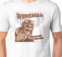The Wingman taking one for the team Unisex T-Shirt