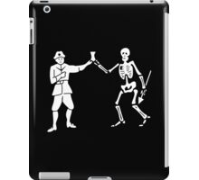 Black Bart Pirate Flag iPad Case/Skin