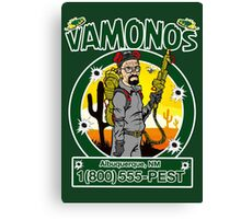 Vamonos Canvas Print