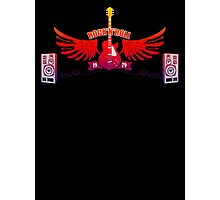 Rock and Roll Guitar Wings Photographic Print