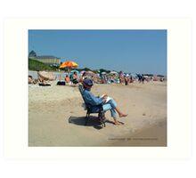 Summer in Watch Hill Art Print