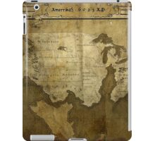Map of Future America: 6023 A.D. iPad Case/Skin