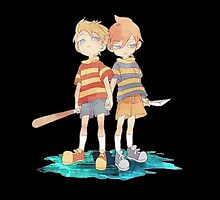 Twins Lucas and Claus by fawn r.