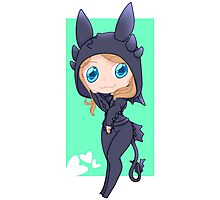Jocy in a Toothless hoodie Photographic Print
