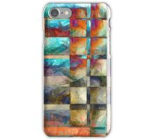 Abstract Lines and Shapes 2 iPhone Case/Skin